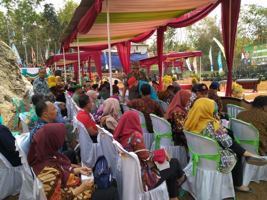 Upacara Pembukaaaan TMMD Reguler Tahun 2019 di Desa Rahayu